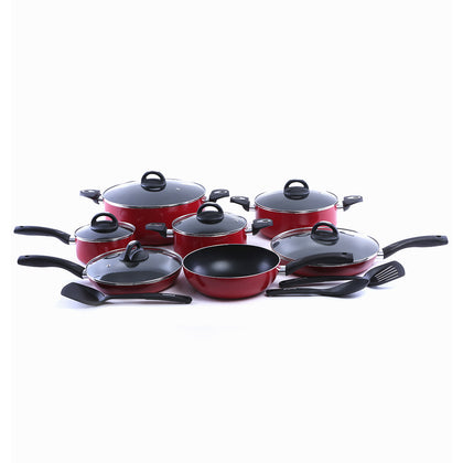 Royalford RF5857 Non-Stick Cookware Set, 16 Pcs - 2071MALL