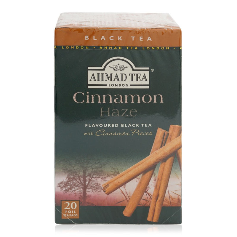 Ahmad Black Tea Bags Cinnamon - 20 Bags