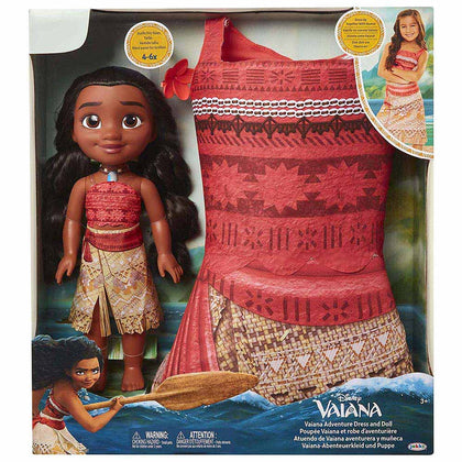 Disney Princess Moana Doll+Dress Edition