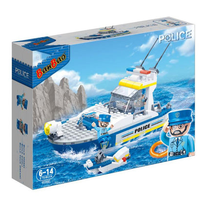 Banbao Police Series ,234 Pieces,7028