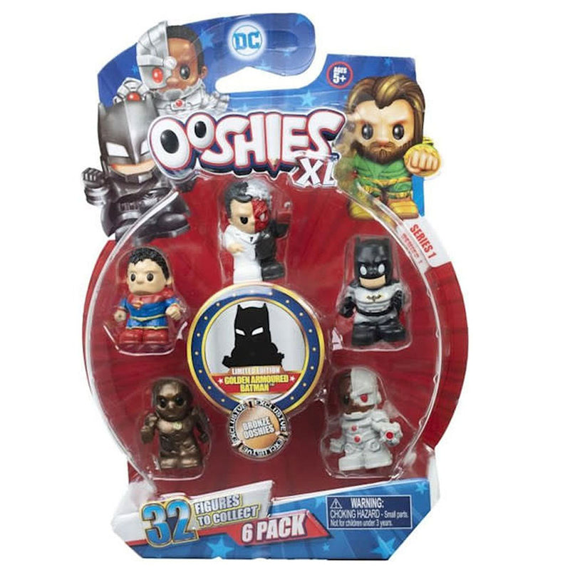 Ooshies Dc Comics Xl S1 6Pack - 2071MALL