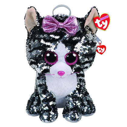 Ty Fashion Sequin Cat Kiki Backpack - 2071MALL