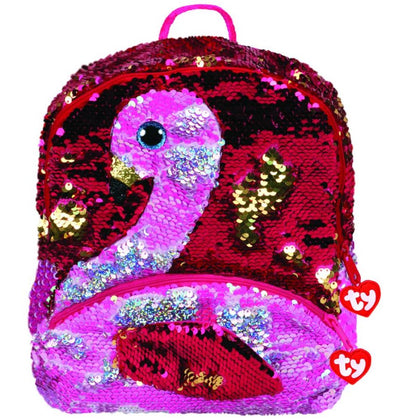 Ty Fashion Sequin Flamingo Gilda, Backpack - 2071MALL