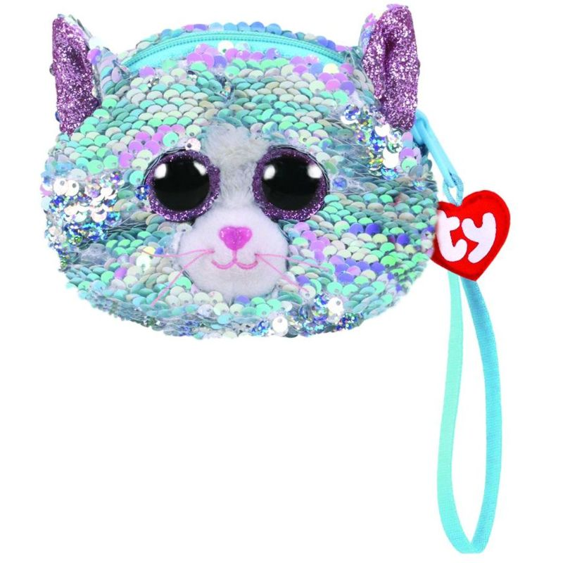 Ty Fashion Sequin Cat Blue Wrislet - 2071MALL