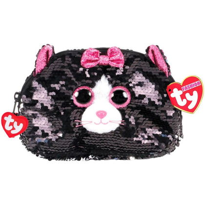 Ty Fashion Sequin Cat Kiki Accessory Bag - 2071MALL