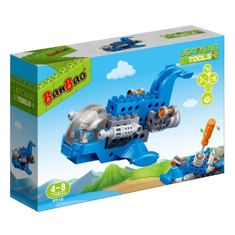 Banbao Young One Learning Tool ,17Pcs 9716 - 2071MALL