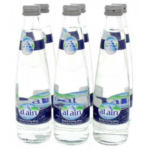 AL AIN Glass Bottle (330ml x 6 pcs) - 2071MALL