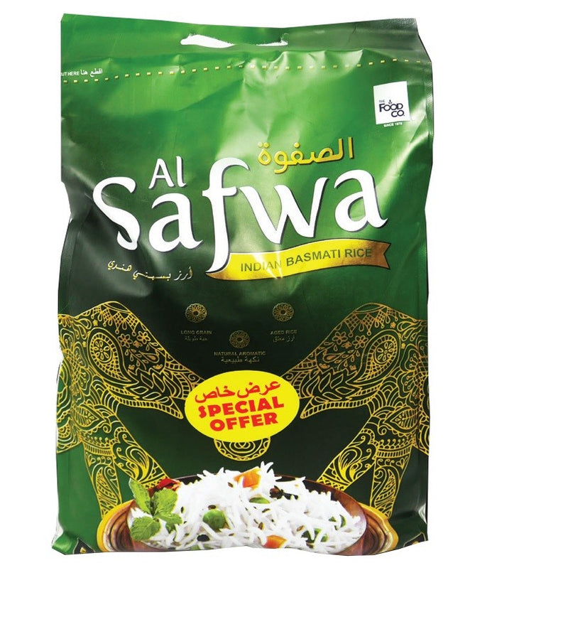 Alsafwa - Long Grain Rice - 5Kg - 2071MALL