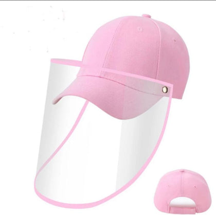 Baseball Kids Anti-spitting Protective Cover Cap (Pink) - 2071MALL