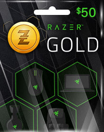 Razer Gold Global $50 US Dollar (USD)- Instant Delivery (Prepaid Only) - 2071MALL
