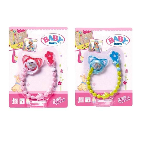 Baby Born Dummy With Dummy Chain 3 Assorted
