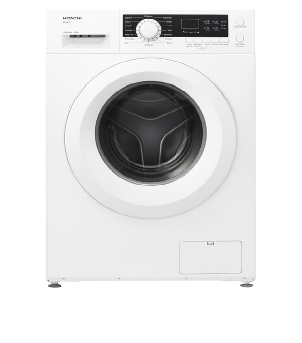 Hitachi Front Load Washer 6 kg BD60CE3CGXWH White - 2071MALL