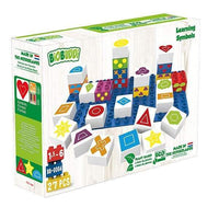BIOBUDDI Learning Shapes, 27PCS