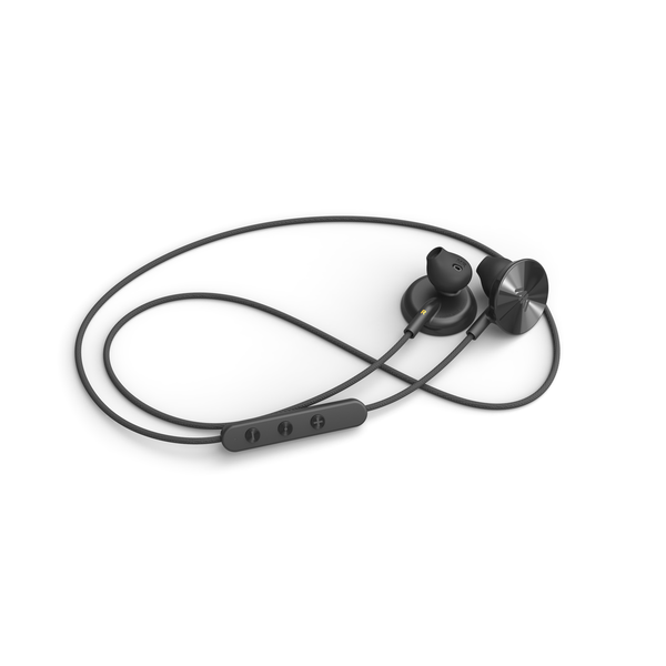 i.am+ - Buttons Bluetooth Wireless Headphones - Black, IAMEP2001BKBK - 2071MALL