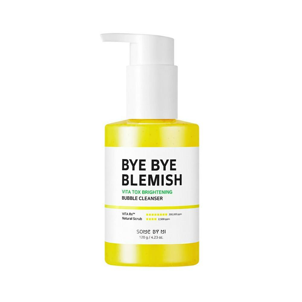 SOME BY MI Bye Bye Blemish Vitatox Brightening Bubble Cleanser (brightening), 120g - 2071MALL