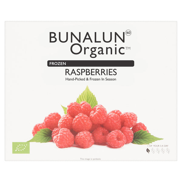 Bunalun Oraganic Raspberries 10 x 300 grams - 2071MALL