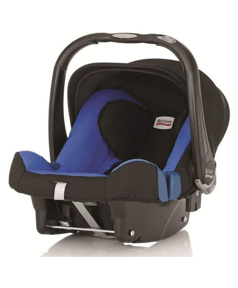 Britax Baby Safe Plus Car Seat Shr Ii Bx From 0 - 13 Months - Blue - 2071MALL