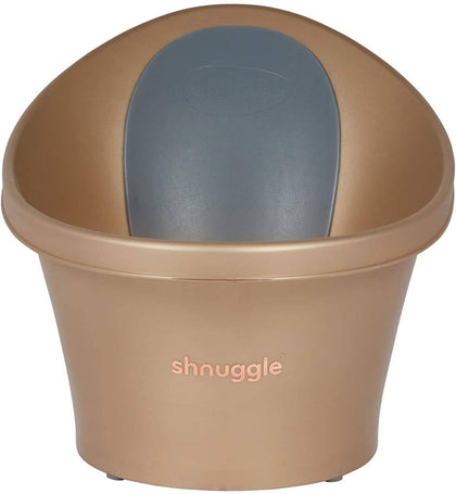 Shnuggle Baby Bath Tub From Birth-12 Months-Gold, GOLD, Piece of 1 - 2071MALL