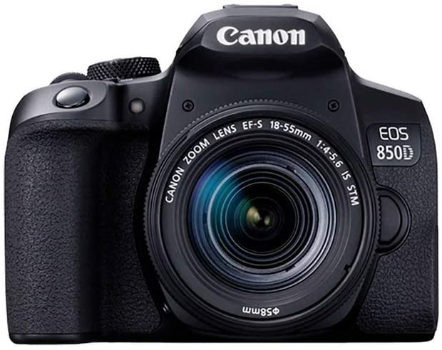Canon EOS 850D + EF-S 18-55mm f/4-5.6 IS STM Lens, B0853XGGSW - 2071MALL