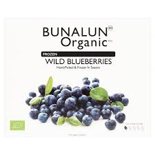 Bunalun Ireland Oraganic Wild Blueberries 10 x 300 grams - 2071MALL