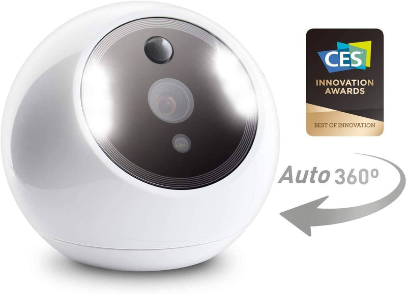 Amaryllo - Apollo Biometric Auto Tracking 360 Home Camera Full HD - White, AMA-ACR1501R15-WH - 2071MALL