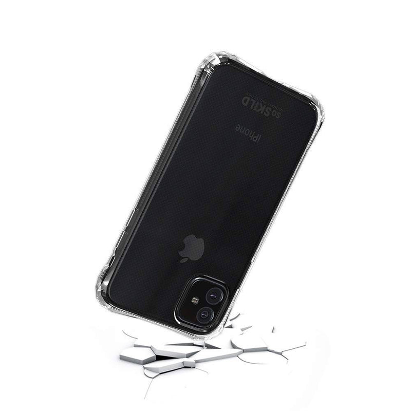 Soskild - Absorb 2.0 Impact Case Transparent & Tempered Glass Screen Protector (Iphone 11) - Clear, SOS-GECTEM-0034 - 2071MALL