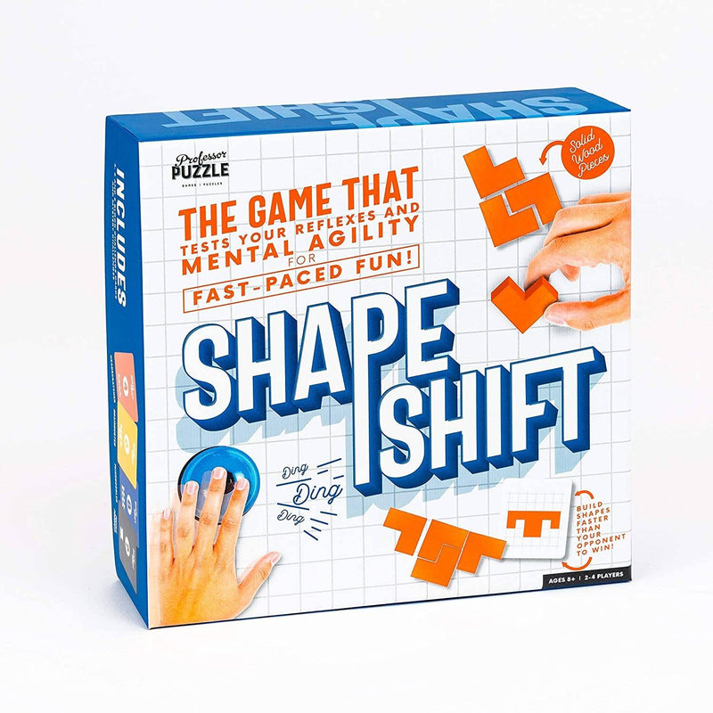 Professor Puzzle - Shape Shift Brain Training Mind Game, PP-BT4262 - 2071MALL