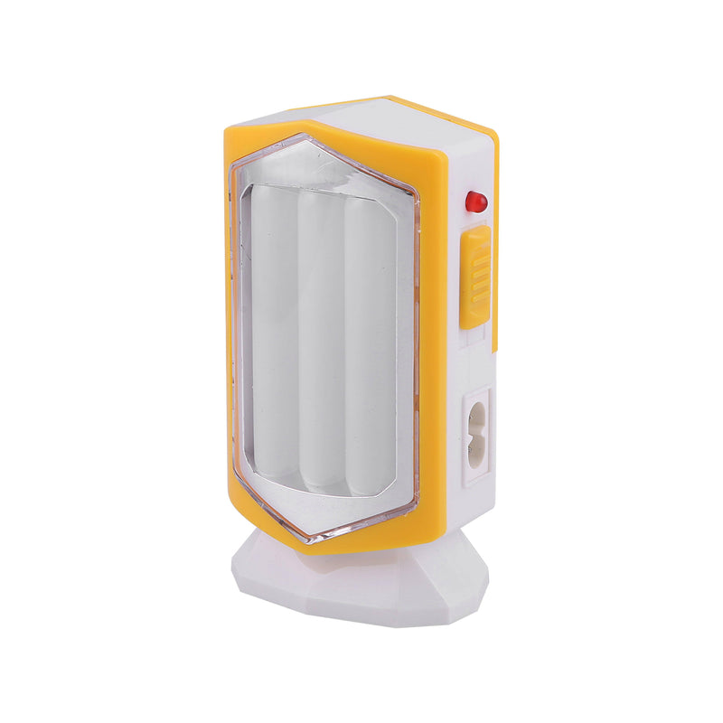 Geepas Rechargeable Led Lantern 21*0.2W Led 4Hrs 1x80 - White/Yellow, GE53025 - 2071MALL