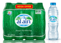 Al Ain Water, 500ml Mega Offer pack of 12 - 2071MALL