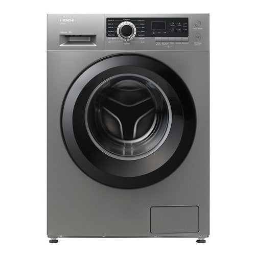 Hitachi Front Load Washer 8 Kg BD80CE3CGXSL Silver - 2071MALL