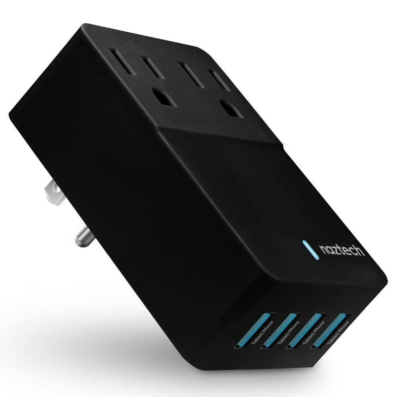 Naztech - Fast Multi-Device Charger - Charge 6 Devices at Once -NTC-14595 Black, NTC-14595 - 2071MALL
