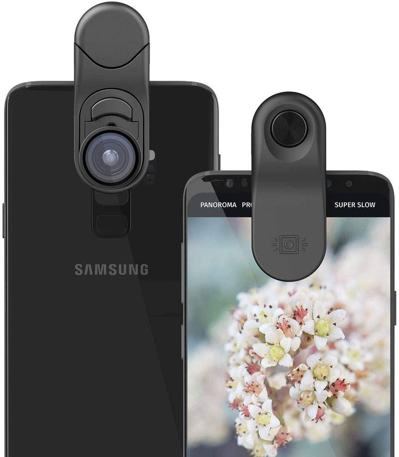 Olloclip - Multi-Device Clip With Wide-Angle + Macro Intro Lenses - Black, OC-0000289-EU - 2071MALL