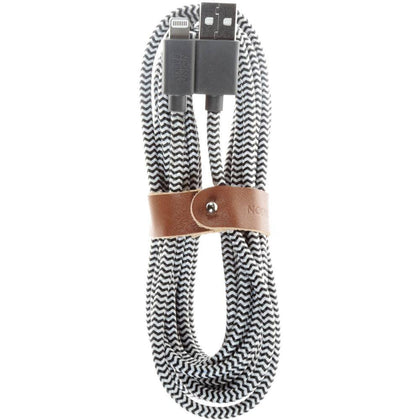Native Union - Belt Lighting Cable Xl 3M Zebra - Zebra, BELT-L-ZEB-3-V2 - 2071MALL