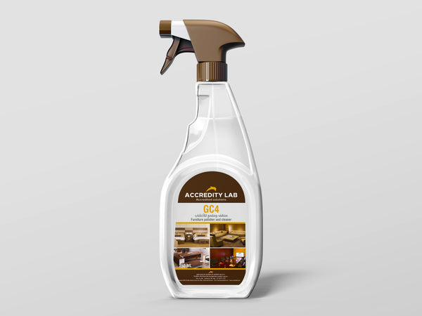 GC 4-Concentrated Furniture Polisher and Cleaner Spray For Wood by Accredity Lab - 2071MALL
