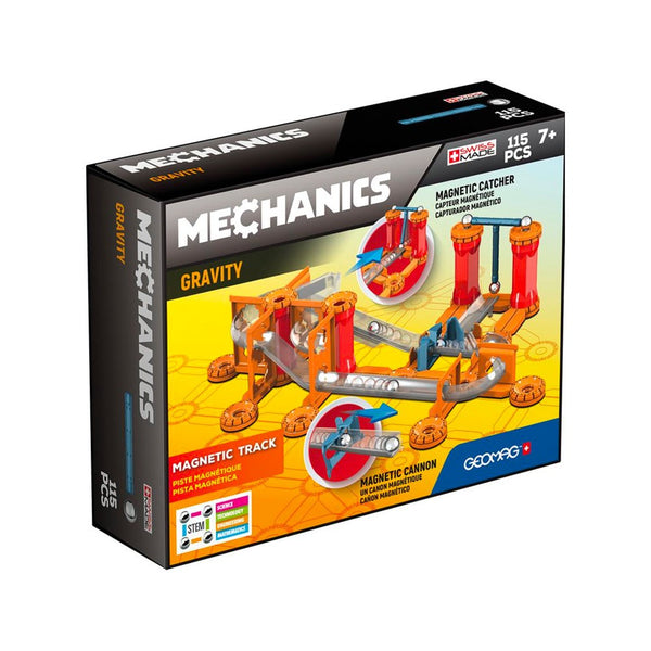 Geomag Gravity Magnetic Race Track Building Set Game (115 Pieces) Games for Kids educational games - 2071MALL
