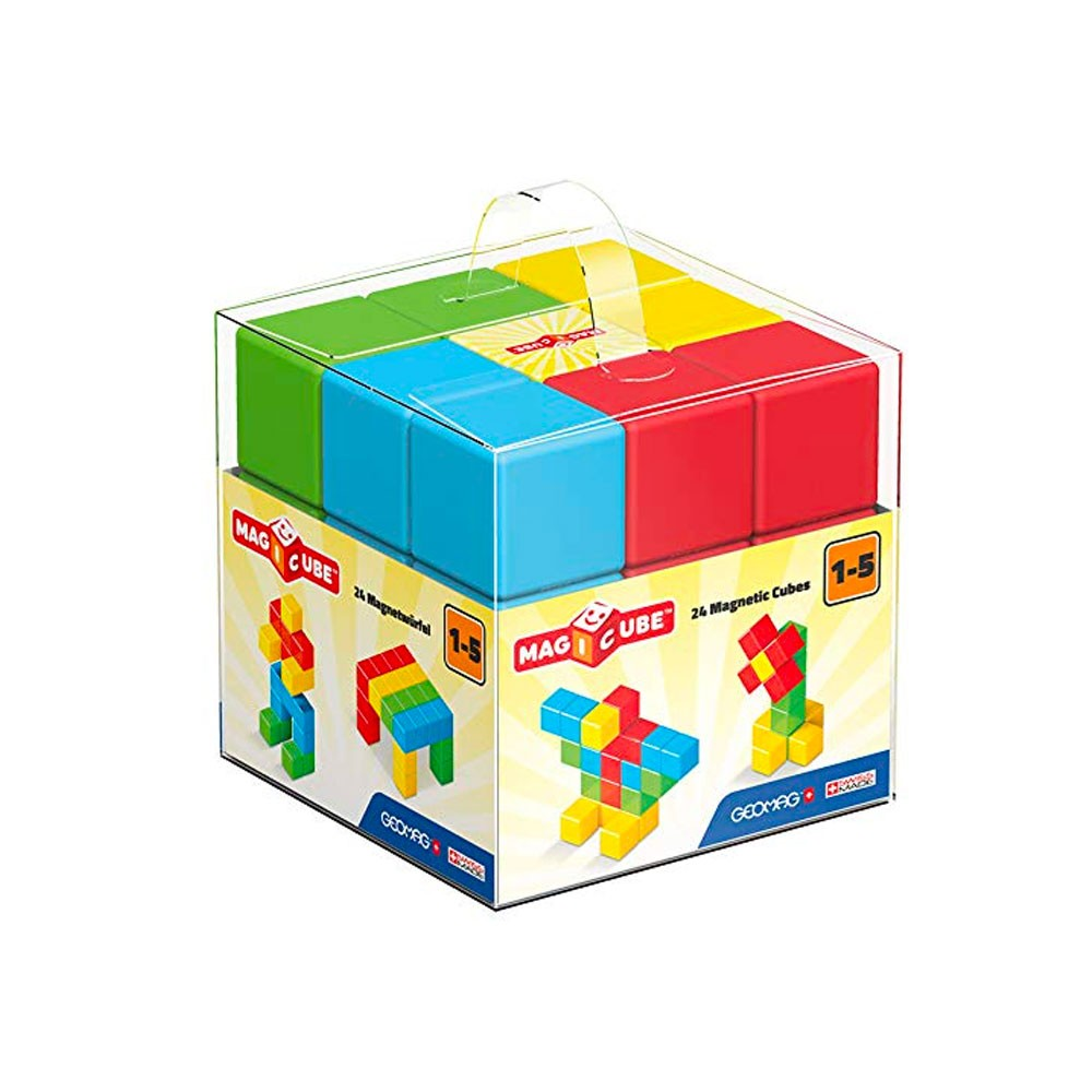 Geomag Magicube Pre-school Building Set 24 Pcs Games for Kids educational games - 2071MALL