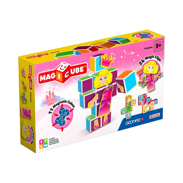 Princess Building Set for Kids Geomag Magicube Games for Kids - 2071MALL