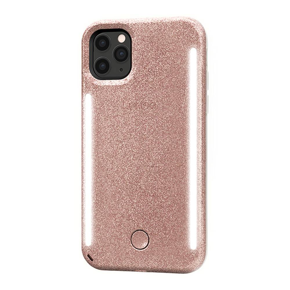 Lumee - Duo Case for iPhone 11 Pro Max  - Rose Glitter, LM-041876 - 2071MALL
