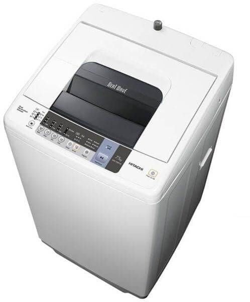 Hitachi 7.5kg Fully Automatic Washing Machine Gray Color NW75WYS3CG - 2071MALL