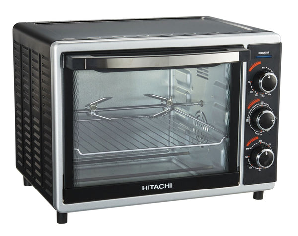 Hitachi 30 Ltrs Oven Toaster And Grill, HOTG-30 Black - 2071MALL