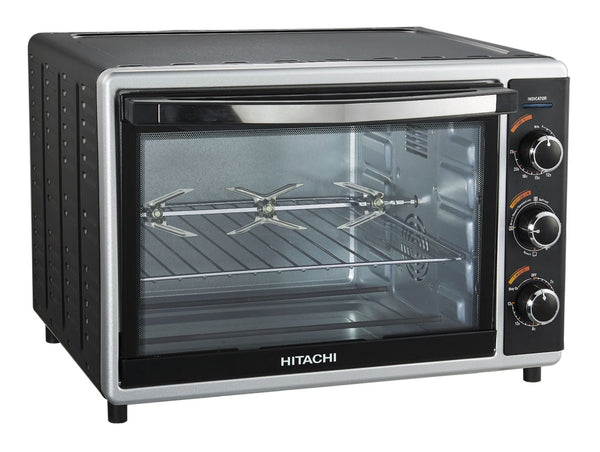 Hitachi 42 Ltrs Oven Toaster And Grill, HOTG-42 Black - 2071MALL