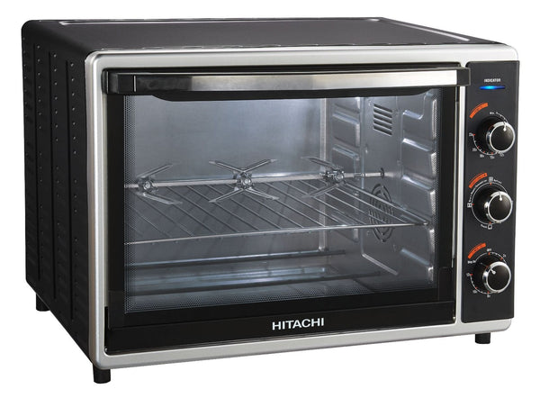 HITACHI 52 Ltrs Oven Toaster And Grill Black - 2071MALL