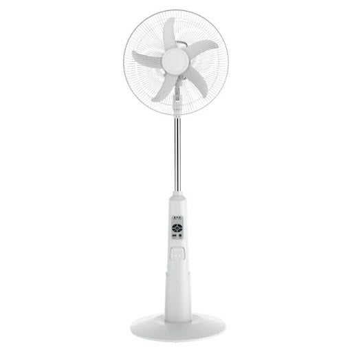 "Olsenmark Ac/Dc16 ""Rechargeable Stand Fan/Led/Mobile Charger/OMF1649 - 2071MALL"
