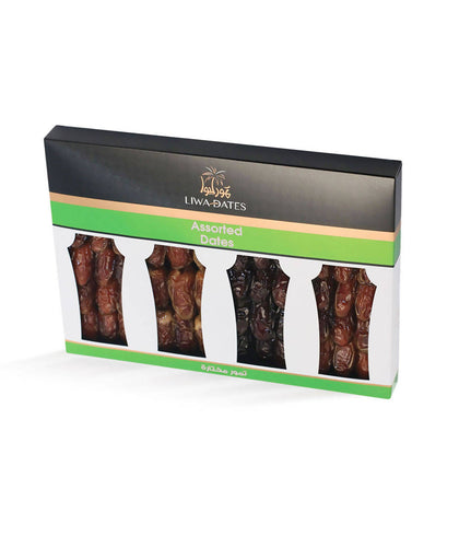 Assorted Dates(4in1) / تمور مختارة 750 غ - 2071MALL