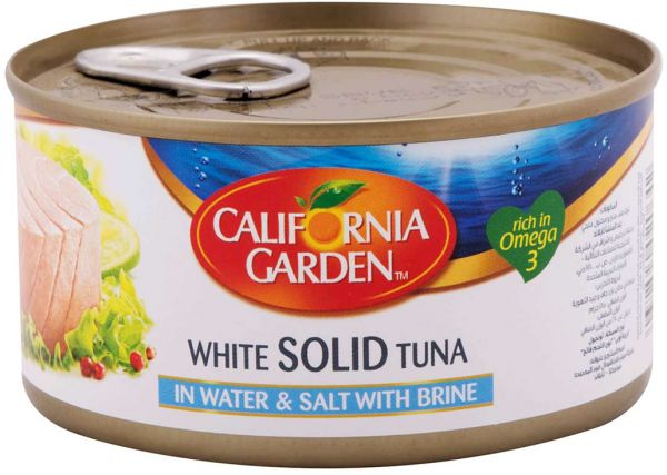CALIFORNIA GARDEN Light Tuna Solids in Brine - 2071MALL