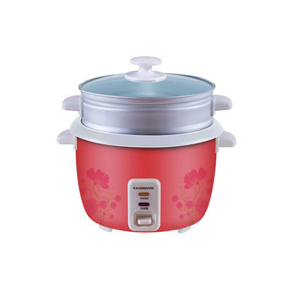 Olsenmark 3 in 1 Rice Cooker/GlassLid/350W/OMRC2350 - 2071MALL