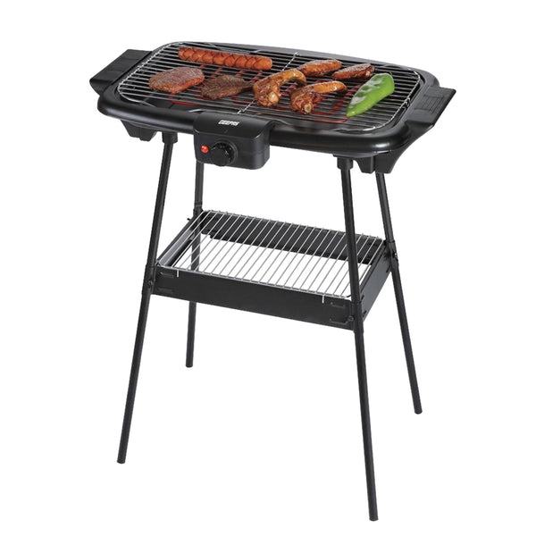 Geepas Electric Barbeque Grill AutoTherm Waterproof 1X4 - Black, GBG5480 - 2071MALL