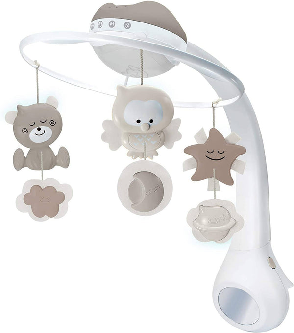 Infantino 3 In 1 Projector Musical Mobile(Ecru)