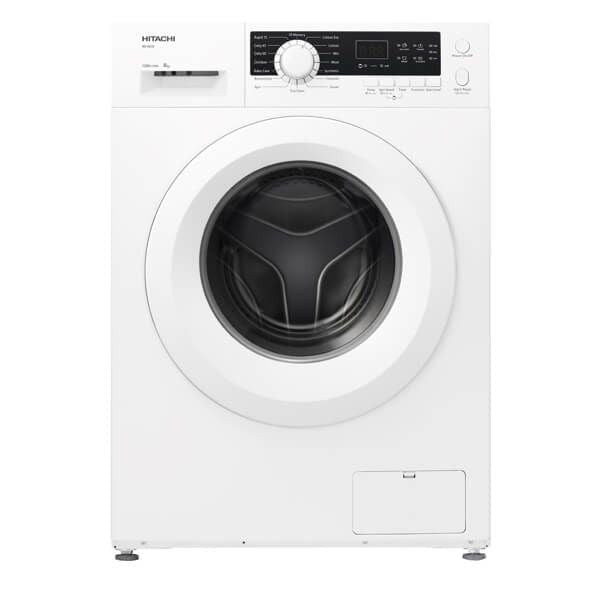 Hitachi 8KG Front Loading Washing Machine-BD80CE3CGXWH , White Color - 2071MALL