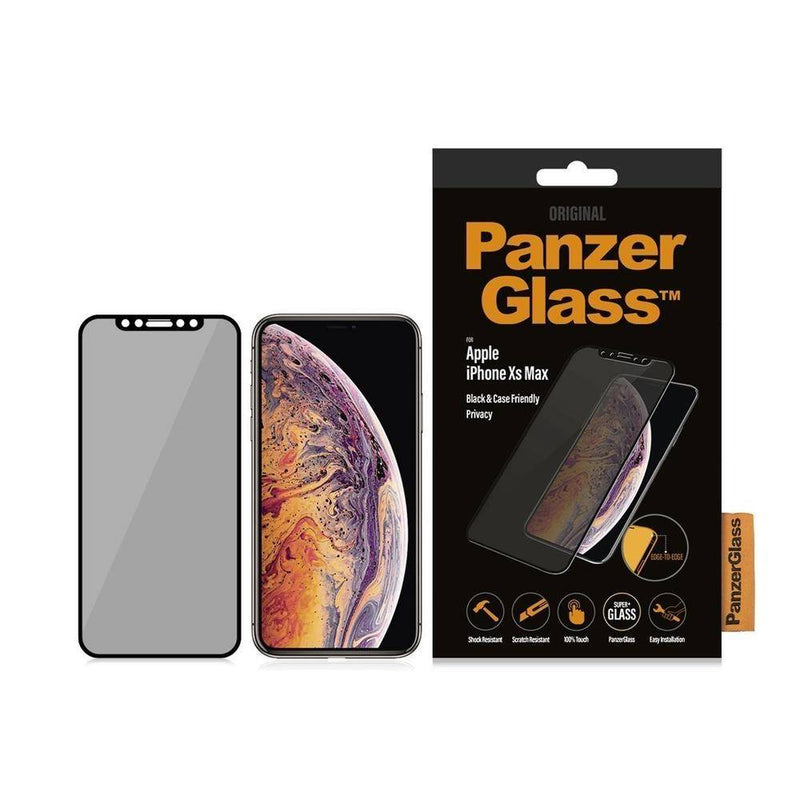 Panzerglass - Edge To Edge Privacy Screen Protector For Iphone Xs Max - Clear, PNZP2643 - 2071MALL